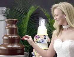 Шоколадный фонтан для лучшей свадьбы