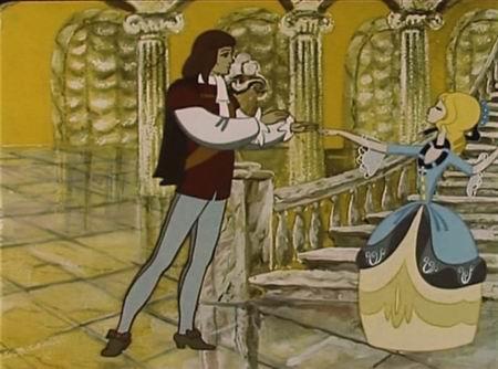 на нем золушка познакомилась с принцем