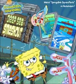 Игра Губка Боб Арканоид онлайн