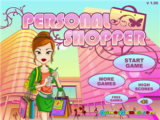 Онлайн игра для девочек Весенний шопинг